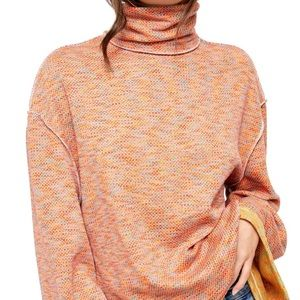 NWT Free People Turtleneck Sweater Top Women's